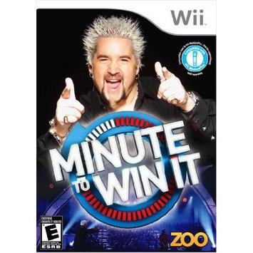 Minute to Win It Wii Game Zoo Games