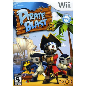 Zoo Games Pirate Blast (Nintendo Wii)