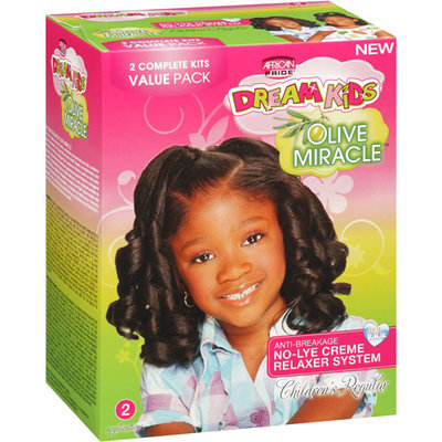 DDI Dream Kids Olive Miracle Relaxer Regular- Case of 4