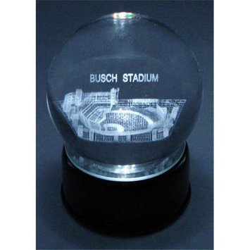 Sport Collector's Guild Busch Stadium ( St. Louis Cardinals) Laser Etched Crystal Ball