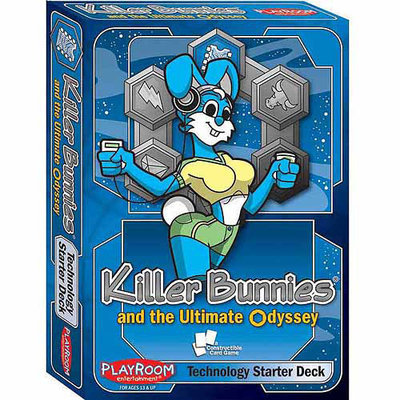 Playroom Entertainment Killer Bunnies And The Ultimate Odyssey Technology Starter Deck