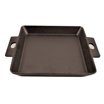 Paderno World Cuisine A17614BB Square C-Iron Grill 5 1/2