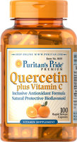 Puritan's Pride 2 Units of Quercetin Plus Vitamin C 250 mg/700 mg-100-Capsules