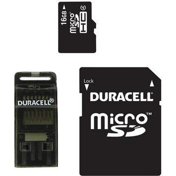 Duracell 16GB microSD High Capacity (microSDHC) - Class 4 - 1 Card