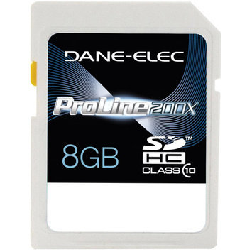 Dane Electronics 8GB Hi-Speed Class 10 SD Memory Card DA-SD1008G-C