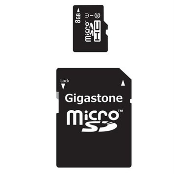 Dane Electronics DaneElec GS-2IN1C1008G-R 8GB Microsdhc Class 10 Uhs-1 Flsh 48MB/s W/ Sd Adapt Hi-perf Mem Card