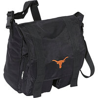 Concept One Texas Longhorns Sitter Diaper Bag - Black