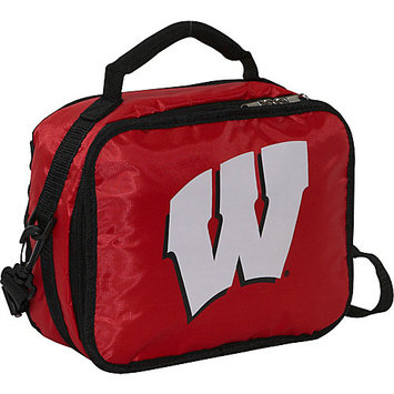 Concept One Accessories Wisconsin Badgers Red Lunch Box