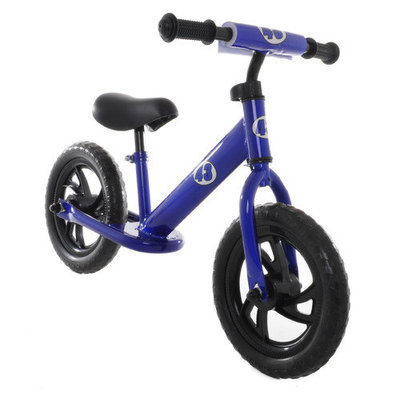 Vilano Balance Running Bike No Pedal Push Bicycle for Girls or Boys Green