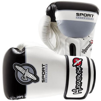 Hayabusa Sport Youth 8oz. Training Glove - White/Black