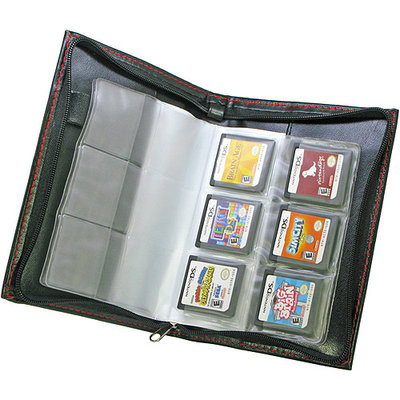 Penguin United DS 24X Game Card Collection Pouch - Black