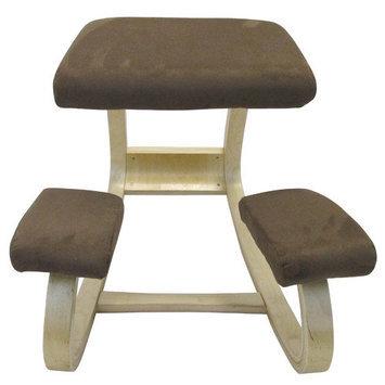 Sierracomfort SC-205L Ergonomic Kneeling Chair in Brown