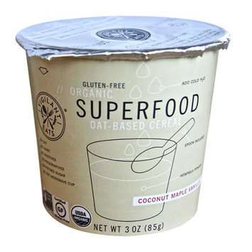 Vigilant Eats Organic Superfood Cereal Coconut Maple Vanilla 3 oz