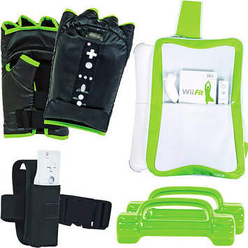 Intec Accessories Workout Kit with Boxing Gloves for Nintendo Wii Fit