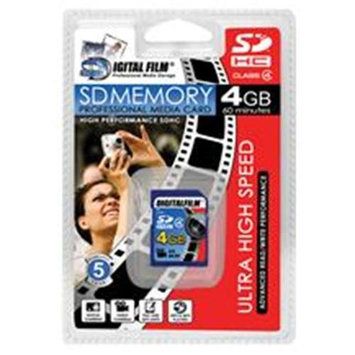 Xtreme Cables 4GB SDHC Memory Card