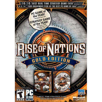 Microsoft Corp. Microsoft Rise Of Nations - Gold Edition [windows 98/me/2000/xp] (riseofnatgold)