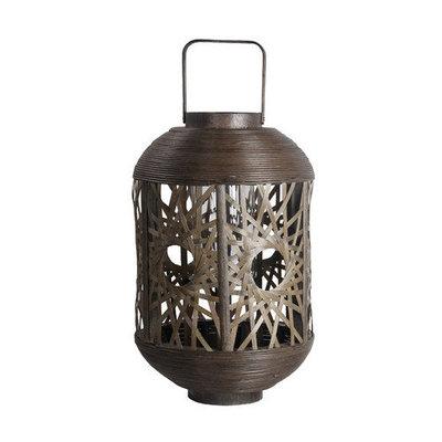 Privilege Woven Table Lantern