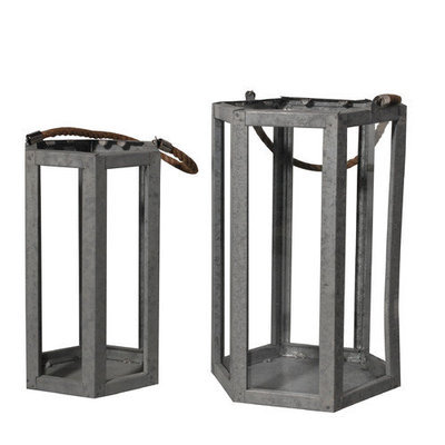 Donny Osmond Home 2 Piece Metal Lantern Set