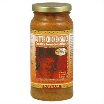 Mr Kook Chicken Butter Sauce 16.5 Oz Pack Of 6