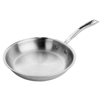 MIU France 95303 Tri-Ply Stainless Steel 12-Inch Skillet