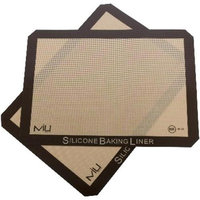 MIU France 99121 Silicone Baking Liners - 2-Pack For Cookie Sheets