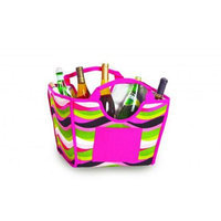 Picnic Plus Psm-338Ww Louella Foldable Cooler- Wavy Watermelon