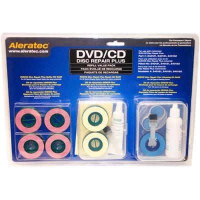 Aleratec DVD/CD Disc Repair Plus Refill Value Pack