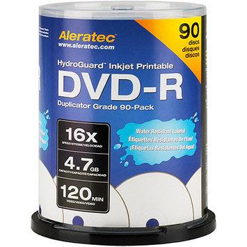 Aleratec HydroGuard, Inkjet Printable DVD-R 16x Media, 90 Pack