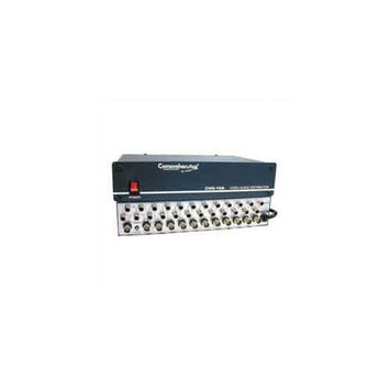 Comprehensive 1x10 Video/Stereo Audio Distribution Amplifier