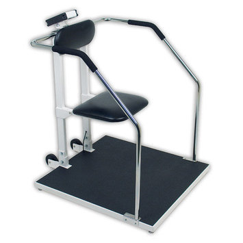 Detecto 6868 Combo Chair Scale / Handrail Scale