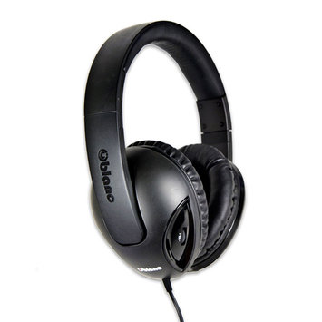 SYBA Multimedia Oblanc Cobra Black Subwoofer Headphone W/In-line Microphone