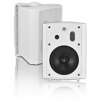 OSD AP640WHT 150W White All Weather Patio Speakers