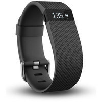 Fitbit Charge HR - Black, Large by Fitbit