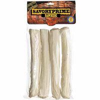 Savory Prime 991 10 Rawhide Supreme Retriever Roll, White, 4 Count