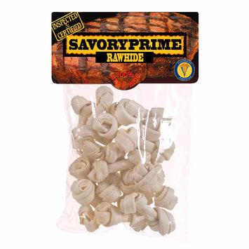 SAVORY PRIME 20 Pack Mini Rawhide Bones