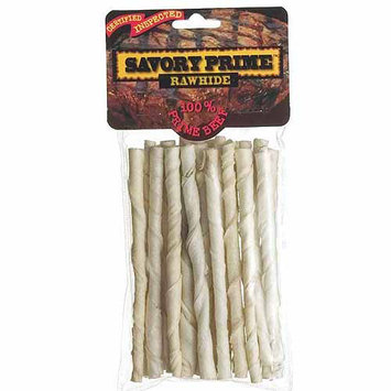 Savory Prime 20 Piece Pack Rawhide Twists 90015