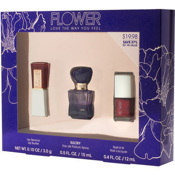 FLOWER Beauty by Drew Barrymore Sultry Fragrance & Color Set, 3 pc