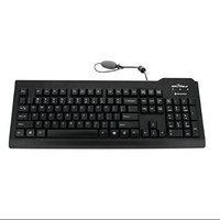 Seal Shield SSKSV208SE Silver Seal Medical Grade Keyboard - Dis