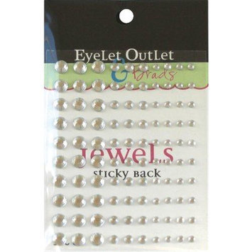 Eyelet Outlet EOB4-CLR Bling Self-Adhesive Jewels Multi-Size 100-Pkg-Clear