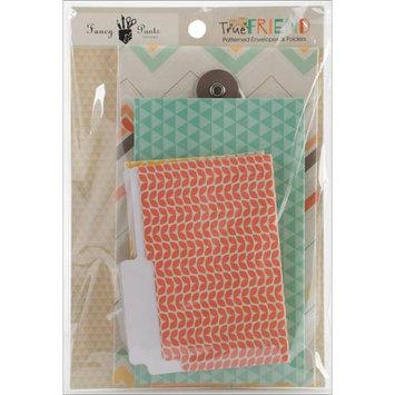 Fancy Pants True Friend Patterned Envelopes & Folders 6/Pkg