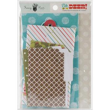 Fancy Pants Oh, Deer! Patterned Envelopes & Folders 6/Pkg