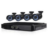 Night Owl 8 Channel 720p Security System with 1TB Hard Drive, 4 720p Bullet Cameras, and 100' Night Vision