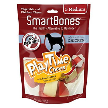 Petmatrix Llc SmartBones Playtime Dog Chews Chicken Medium