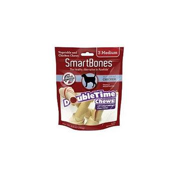 Petmatrix Llc SmartBones DoubleTime Dog Chew Bones Chicken Med