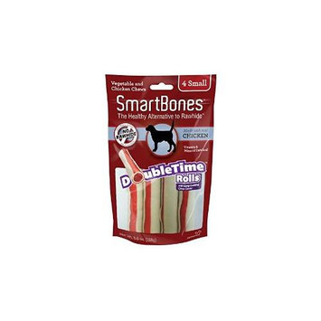 Petmatrix Llc SmartBones DoubleTime Dog Chew Rolls Chicken Small
