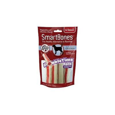 Petmatrix Llc SmartBones DoubleTime Dog Chew Rolls Chicken Small