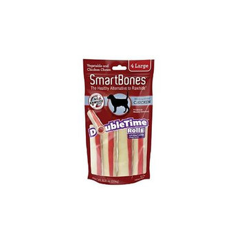Petmatrix Llc SmartBones DoubleTime Dog Chew Rolls Chicken Large