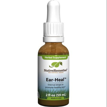 Native Remedies EHL001 Ear-Heal Drops for Ear Infections - 50ml