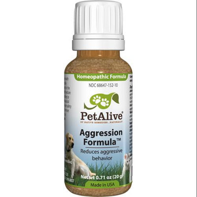 Native Remedies PAGR001 PetAlive Aggression Formula for Stressed and Aggressive Pets 20g