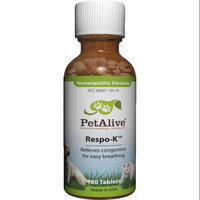 Native Remedies PRSP001 PetAlive Respo-K for Colds, Congestion, Sneezing in Pets - 125 Tablets